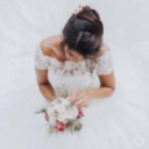 Bouquet de la mariée photographié par LJ PHOTOGRAPHE à la Réunion