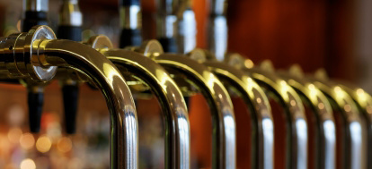 Bar Taps Close-Up