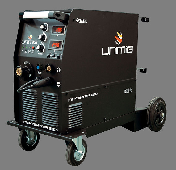 Unimig 250 MIG/MMA/TIG Inverter Welder KUMJR250K-SG 250 COMPACT