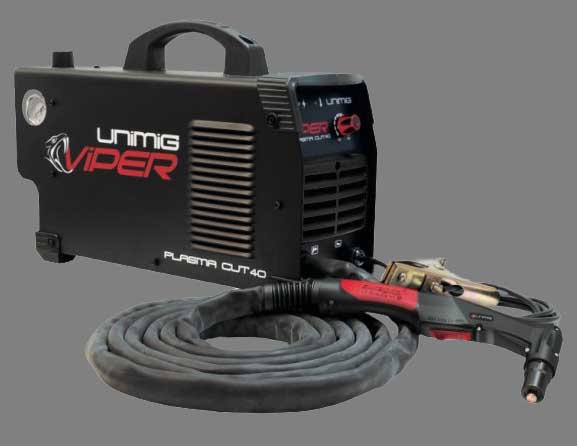 Unimig plama cut 40 KUPJRVC40 in black from australia industrial group welding supply store