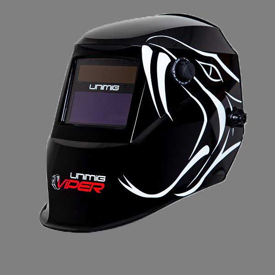 Unimig Viper Automatic Welding Helmet UMVWH Front View