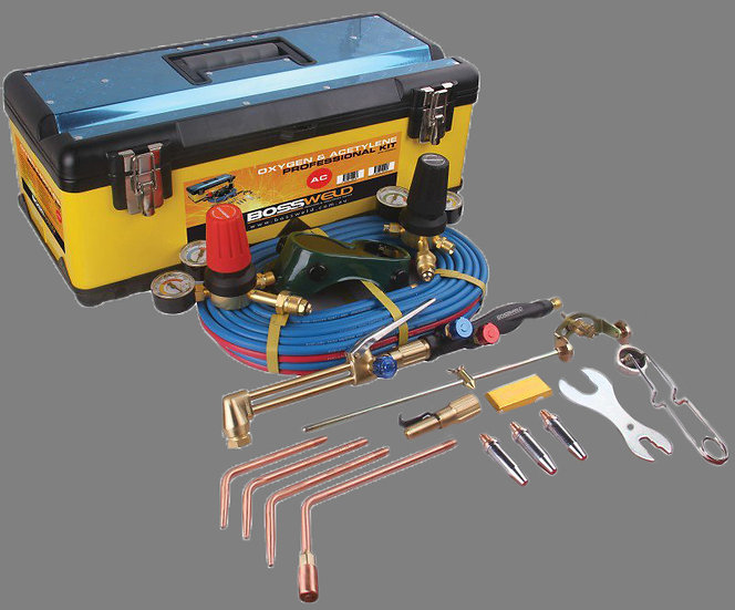 Bossweld Oxygen/Acetylene Professional Gas Kit 400004 perth australia welding products