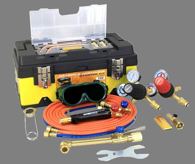 Bossweld Oxygen/Acetylene Starter Gas Kit 400001 Dyna Weld Welding Products