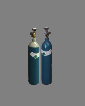 C-Size Pure Argon (4.2) / Argon/Co2 (5.2) Gas Bottles For MIg And TIG Welding Machines
