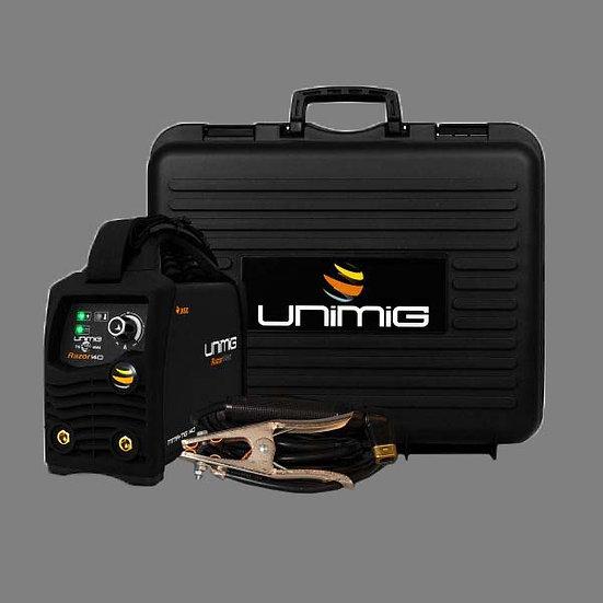 Unimig RAZORWELD 140 AMP MMA/TIG - KUMJRRW140CA Welding Machine With VRD For Onsite Working Australia