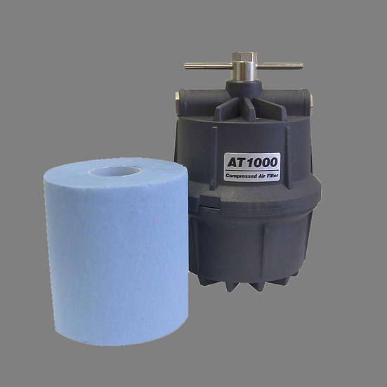 AT1000 COMPRESSED AIR LINE CARTRIDGE & FILTER FOR PLASMA CUTTING MACHINES
