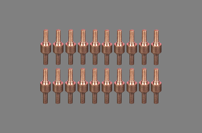 AIG PT-31 Plasma Torch Copper Electrodes For Use With PT31 Or LG40 Plasma Cutting Torches