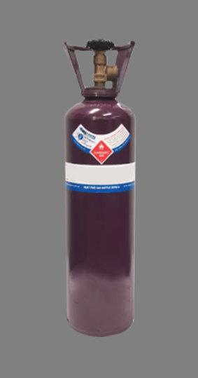 D-Size Acetylene Gas Bottle