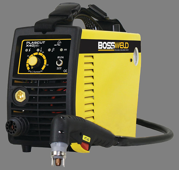 Bossweld Plascut X40 PFC 600045 Plasma Cutter for cutting thick steel and metals