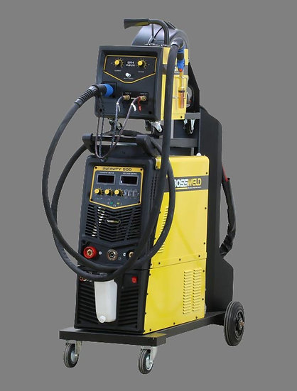 Bossweld Infinity Multiprocess SWF/WC 500 - 600500 welding machine for all types of welding
