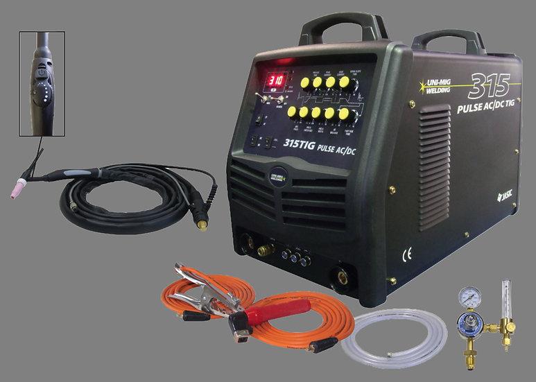 KUMJR315AC/DC  Unimig Ac Dc tig welding machine