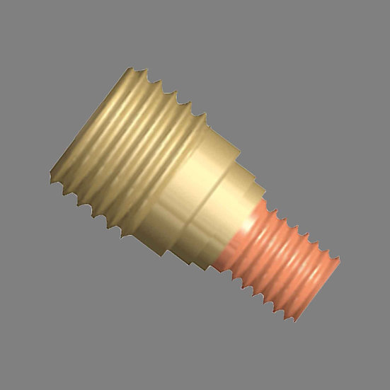 AIG 1.0MM - TIG GAS LENS COLLET BODY - WP-9   20 (45V42) Best Welding Consumables For Tig Welding With Good Visibility