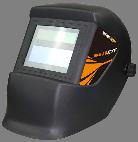 BossSafe  Bullseye  Eco Electronic Welding Helmet 700142 basic welding helmet for beginers