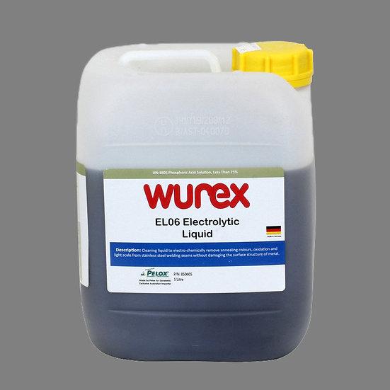 Wurex EL06 Electrolytic Liquid for all types of welding