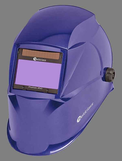 WELDCLASS PROMAX 350 4 SENSOR BLUE AUTOMATIC WELDING HELMET For All Welding Applications