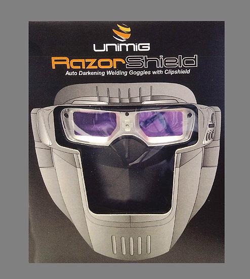 Razor Shield Compact Auto Darkening Goggles Welding Industrial Perth KUMRS