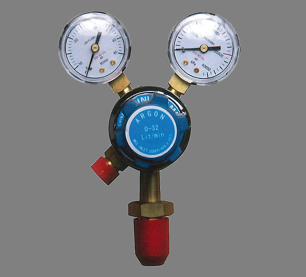 UNI-FLAME TWIN GAUGE ARGON PRESSURE REGULATOR Welding Industrial Perth