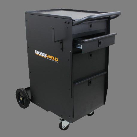 TR2 Welders Toolbox Trolley - 600315 in black for welding