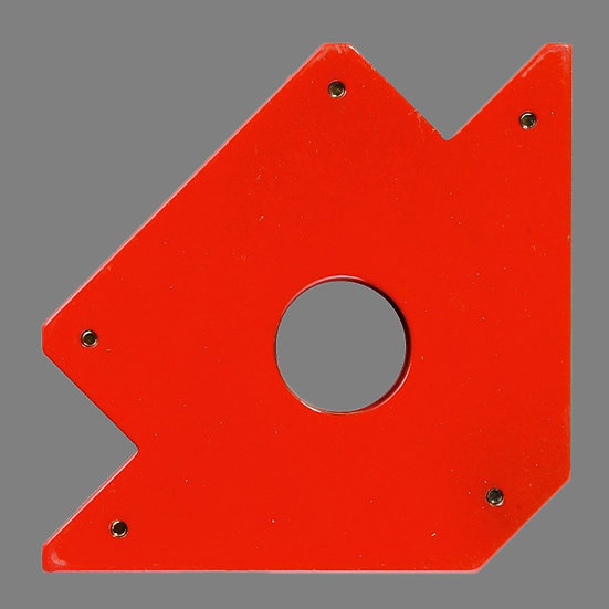 Bossweld Magnetic Holder 100mm in red for welding
