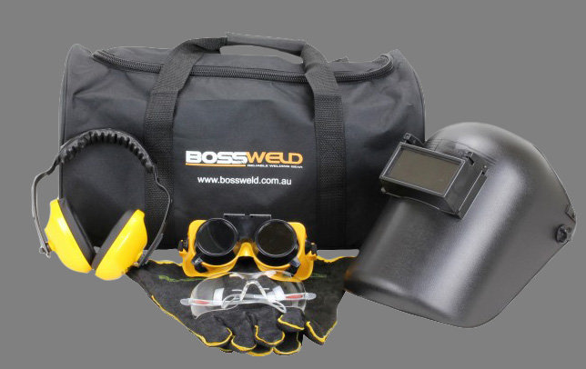 Bossweld Student Safety Kit 700300 for beginners starting out in welding and fabrication