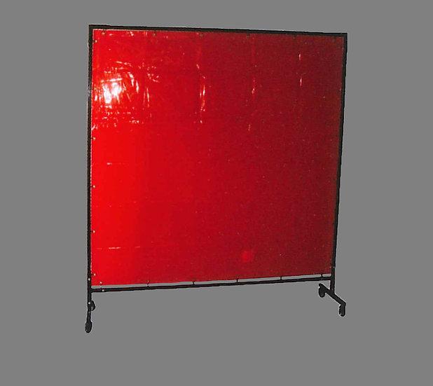 xcel arc XA Professional Welding Curtains red Industrial Welding XARWC