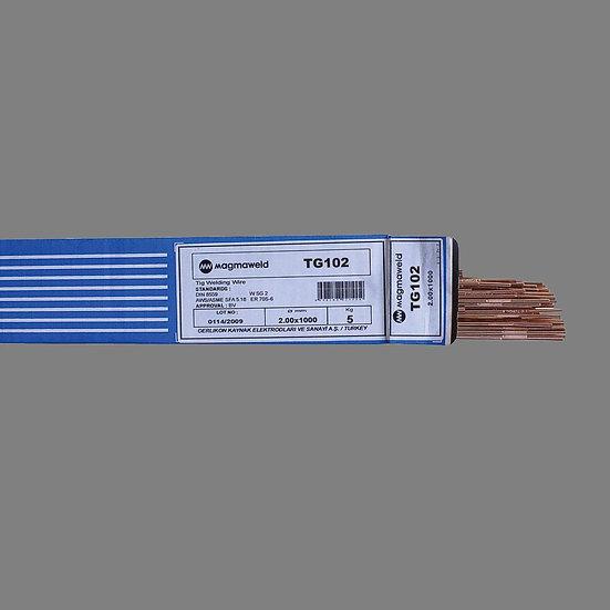 Unimig TG2-102 - ER70S-2 Filler tig rods for tig welding