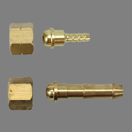 Bossweld Connection Fittings  Industry standard nuts & nipples for use with 5mm & 10mm hoses