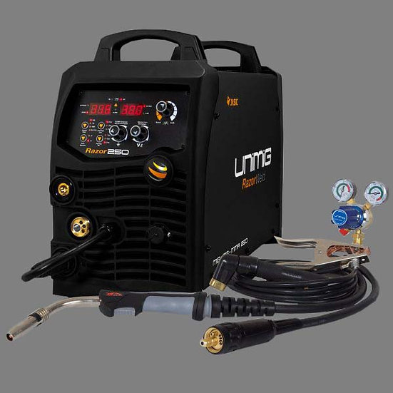 Unimig RAZORWELD 250 DIGITAL MTS - KUMJRDP250 For All Your Welding Needs