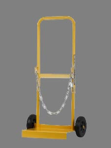 Bossweld Solid Cylinder Trolley for placing gas bottles in