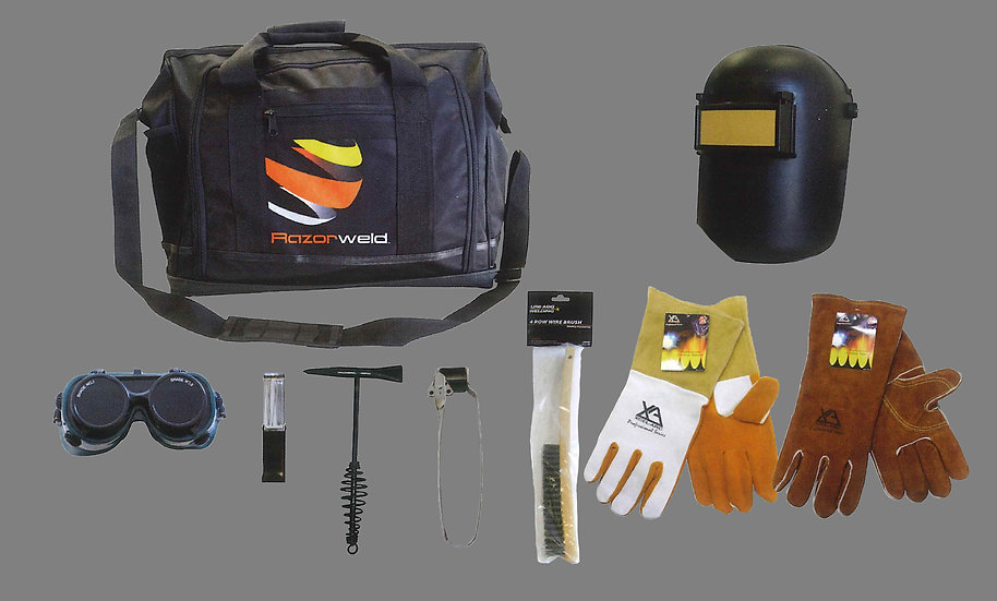 UNIMIG Apprentice Bag 1 Welding complete kit UMAB1