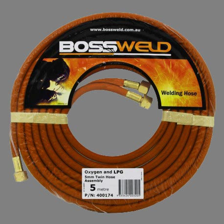 Bossweld Oxygen/LPG Twin Hose Assembly For Oxy Kits And WElding Machines Australia Industrial Group