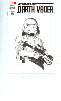 FirstOrderSnowTrooper - Commission