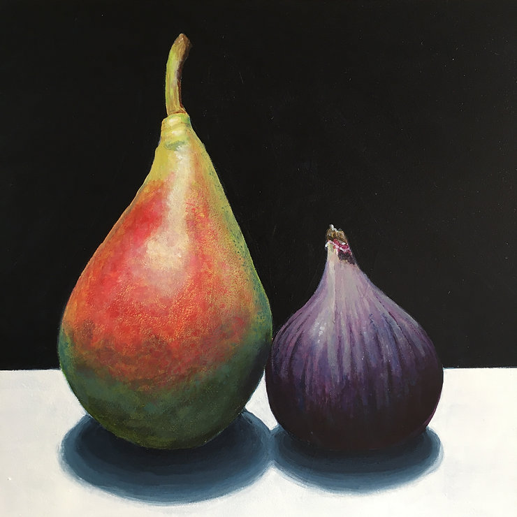 Fig And Blushing Pear