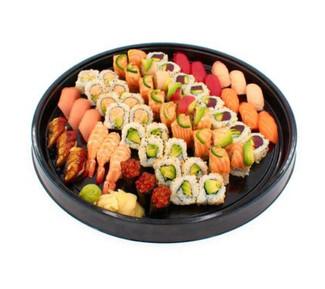 Nigiri and Maki combo platter