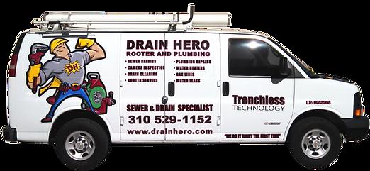 Plumbing Truck Vinyl Graphics