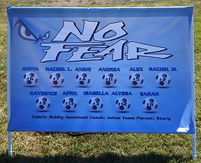 Soccer Sports Team banners