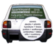 Window Wrap Wheel Cover Graphics
