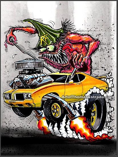 Oldsmobile Rallye 350 Poster