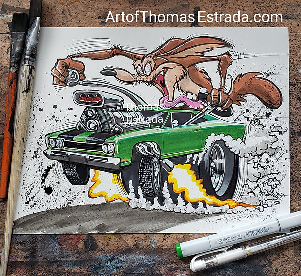 Coyote and the Roadrunner