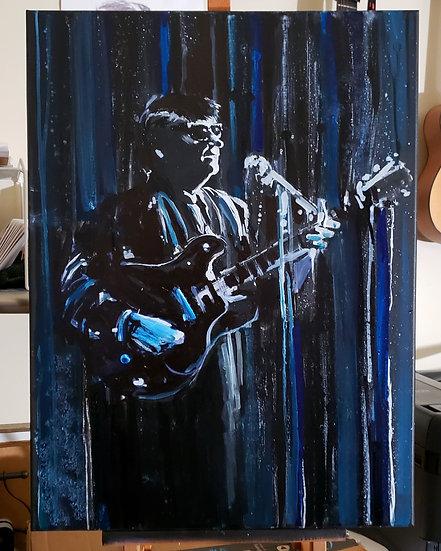 "ORIGINAL ""Orbison"" 18X24 on Canvas Painting"