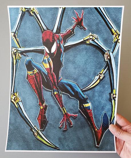 Iron Spider Print