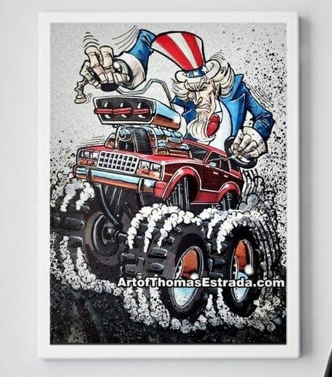 AMC Eagle Poster