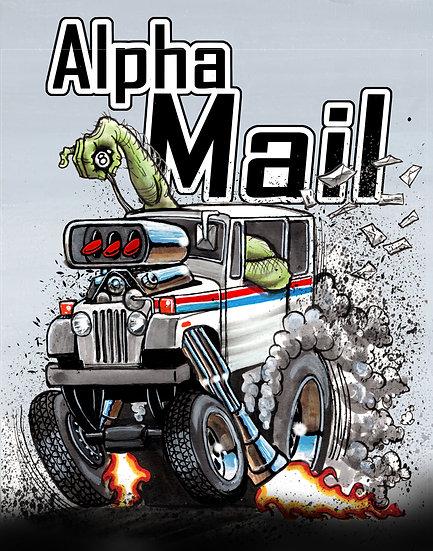 Alpha Mail Poster
