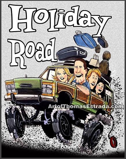 Holiday Road Print