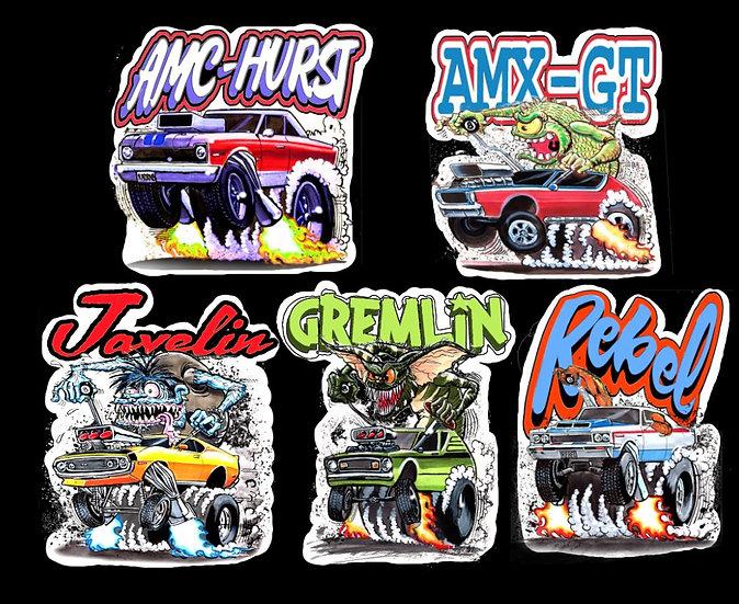 AMC Decal Five Pack Vol. 1