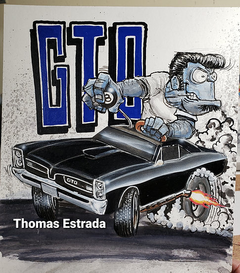Back in Black GTO Print
