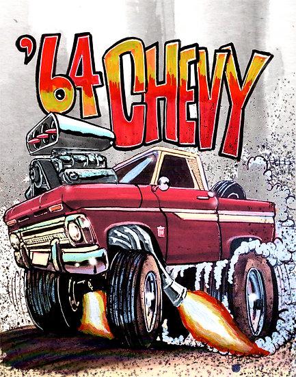 '64 Chevy Truck Print