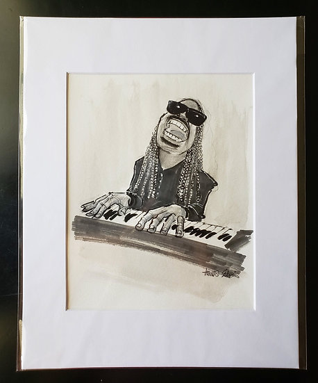 """Stevie"" 8x10 ORIGINAL Illustration"
