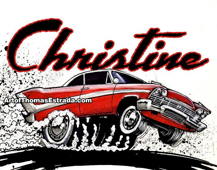 Christine Print
