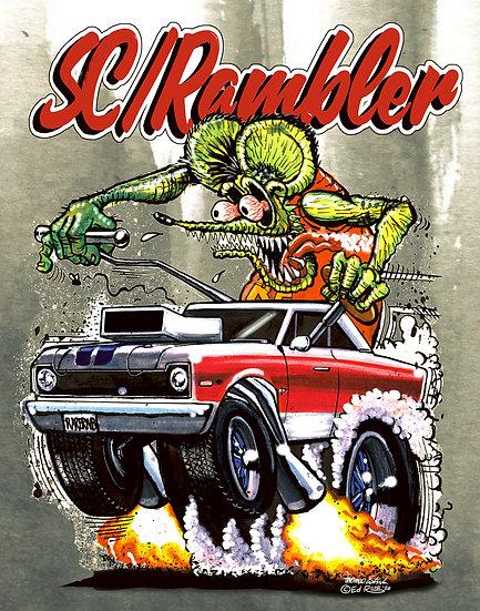 1969 AMC Hurst SC/Rambler Scrambler.